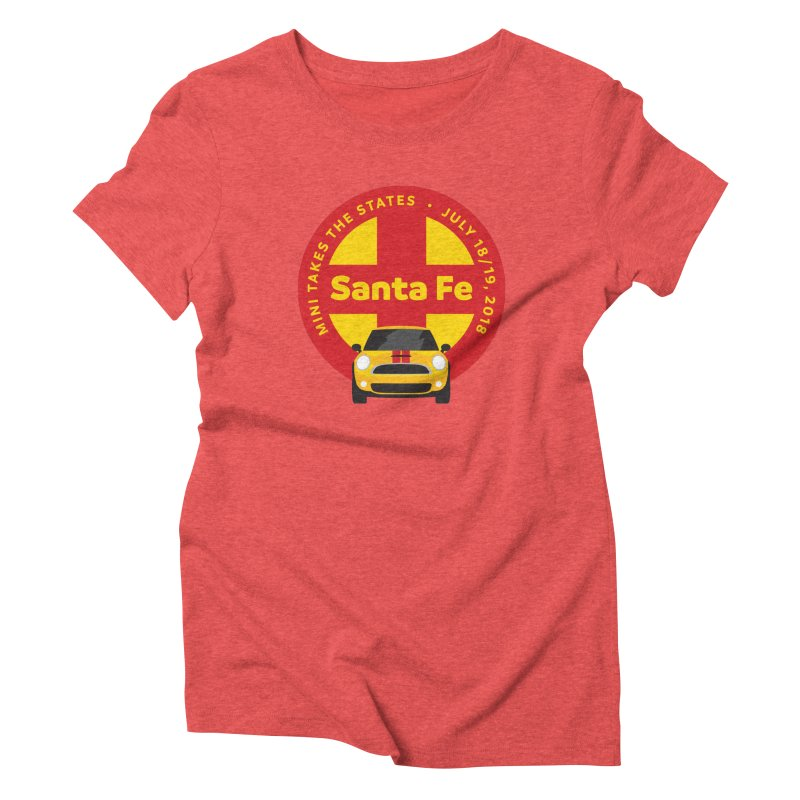 MTTS 2018 - Santa Fe Women's Triblend T-Shirt by TwistyMini Motoring Shirts