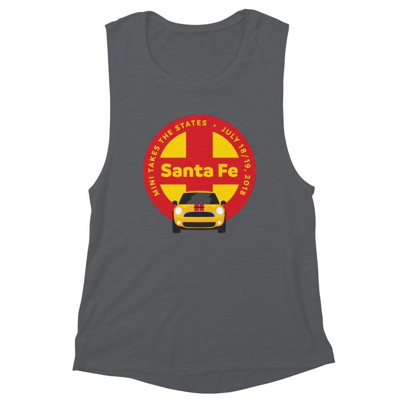 MTTS 2018 - Santa Fe Women's Muscle Tank by TwistyMini Motoring Shirts