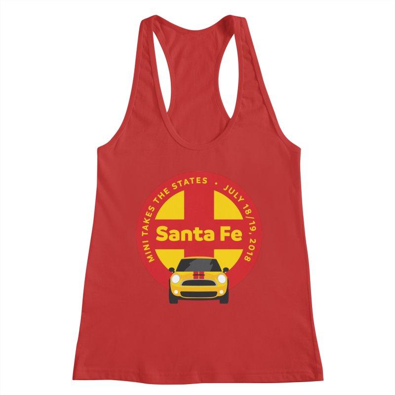 MTTS 2018 - Santa Fe Women's Racerback Tank by TwistyMini Motoring Shirts