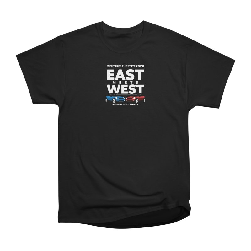 MTTS 2018 - East Meets West (type only) Women's Heavyweight Unisex T-Shirt by TwistyMini Motoring Shirts