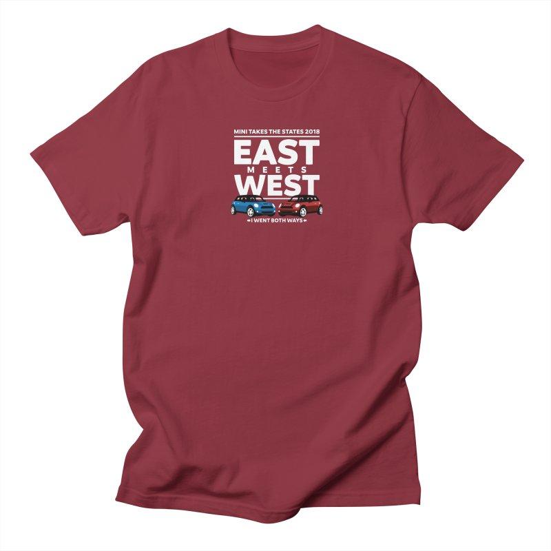 MTTS 2018 - East Meets West (type only) Women's Regular Unisex T-Shirt by TwistyMini Motoring Shirts