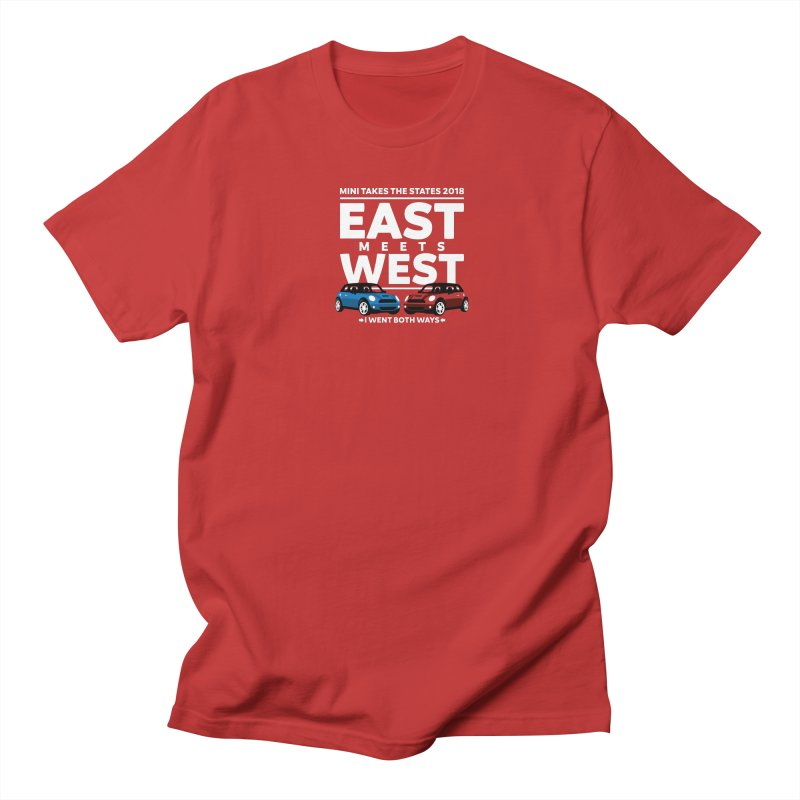 MTTS 2018 - East Meets West (type only) Men's Regular T-Shirt by TwistyMini Motoring Shirts