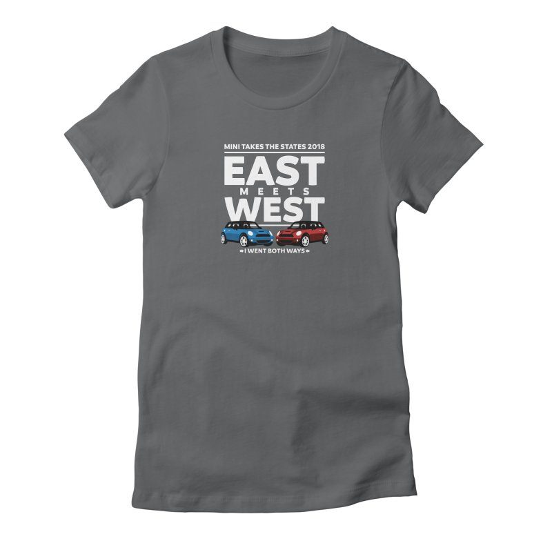 MTTS 2018 - East Meets West (type only) Women's Fitted T-Shirt by TwistyMini Motoring Shirts