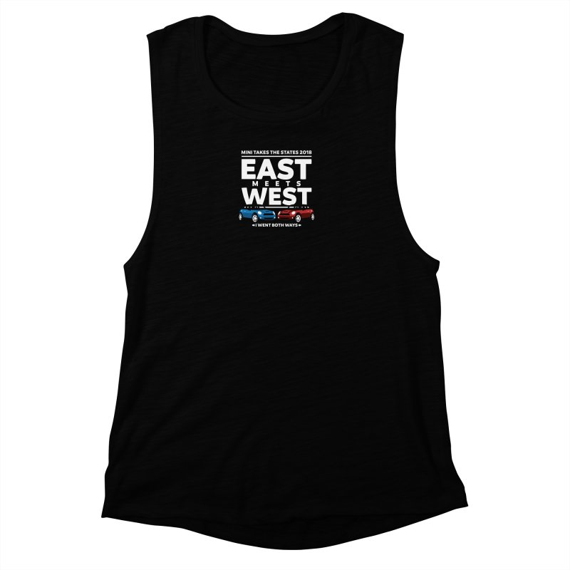 MTTS 2018 - East Meets West (type only) Women's Muscle Tank by TwistyMini Motoring Shirts
