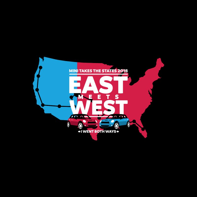 MTTS 2018 - East Meets West (map) Men's T-Shirt by TwistyMini Motoring Shirts