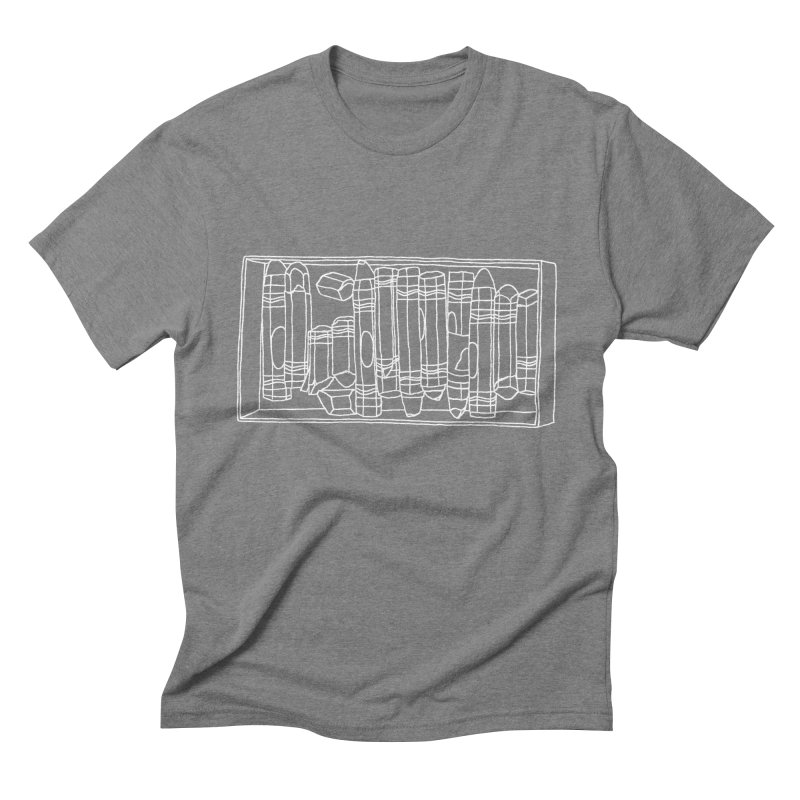Pastels Men's Triblend T-Shirt by Nick's Artist Shop