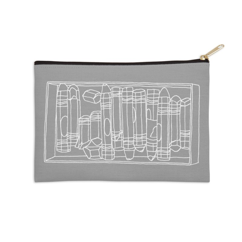 Pastels Accessories Zip Pouch by Nick's Artist Shop