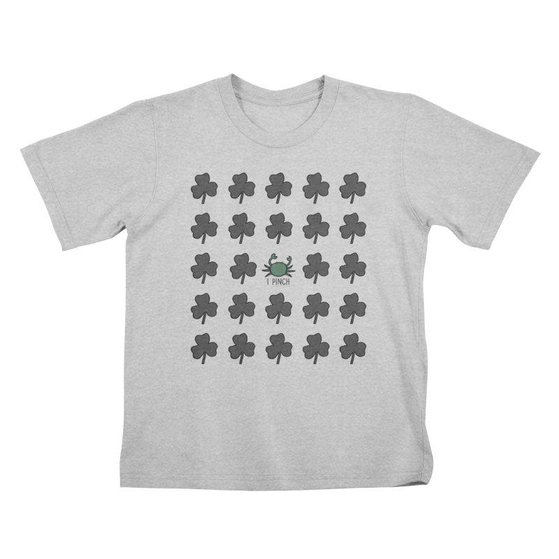 I PINCH Kids T-Shirt by Nick's Artist Shop