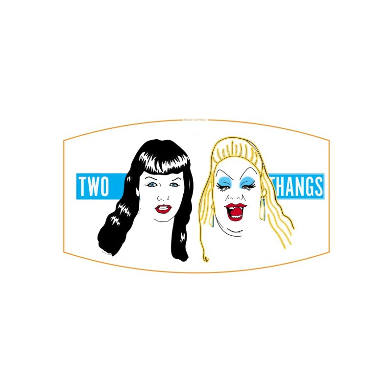 Bettie Page / Divine mask Accessories Face Mask by Two Thangs Artist Shop