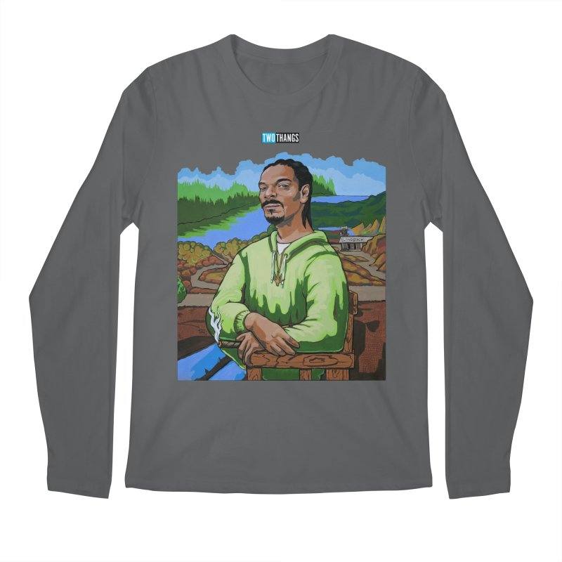 396d0d3b Snoop Dogg and Mona Lisa Men's Longsleeve T-Shirt by Two Thangs Artist Shop