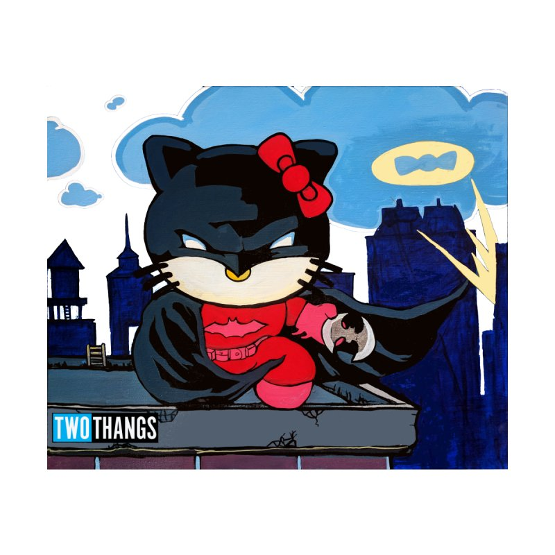 Hello Kitty / Batman by Two Thangs Artist Shop