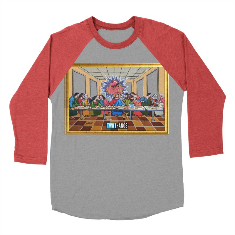 The Last Supper / Taco Bell Men's Longsleeve T-Shirt by Two Thangs Artist Shop