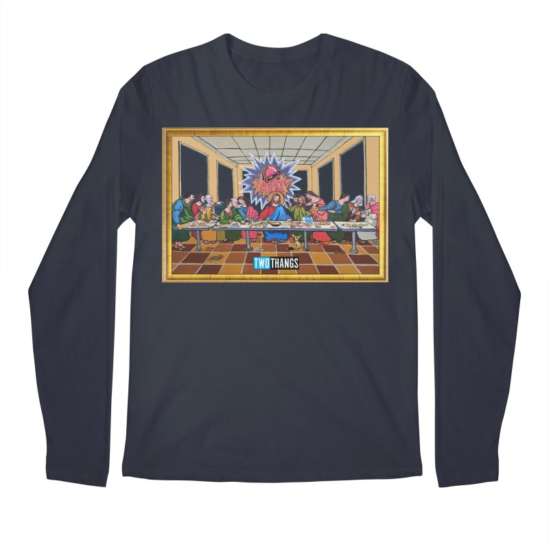 The Last Supper / Taco Bell Men's Regular Longsleeve T-Shirt by Two Thangs Artist Shop