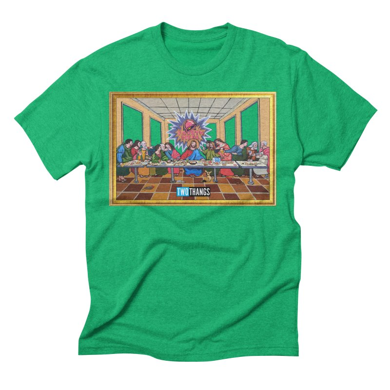 The Last Supper / Taco Bell Men's Triblend T-Shirt by Two Thangs Artist Shop