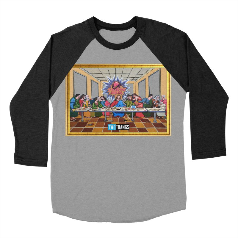 The Last Supper / Taco Bell Men's Baseball Triblend Longsleeve T-Shirt by Two Thangs Artist Shop