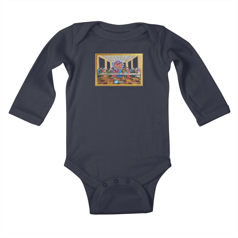 The Last Supper / Taco Bell Kids Baby Longsleeve Bodysuit by Two Thangs Artist Shop