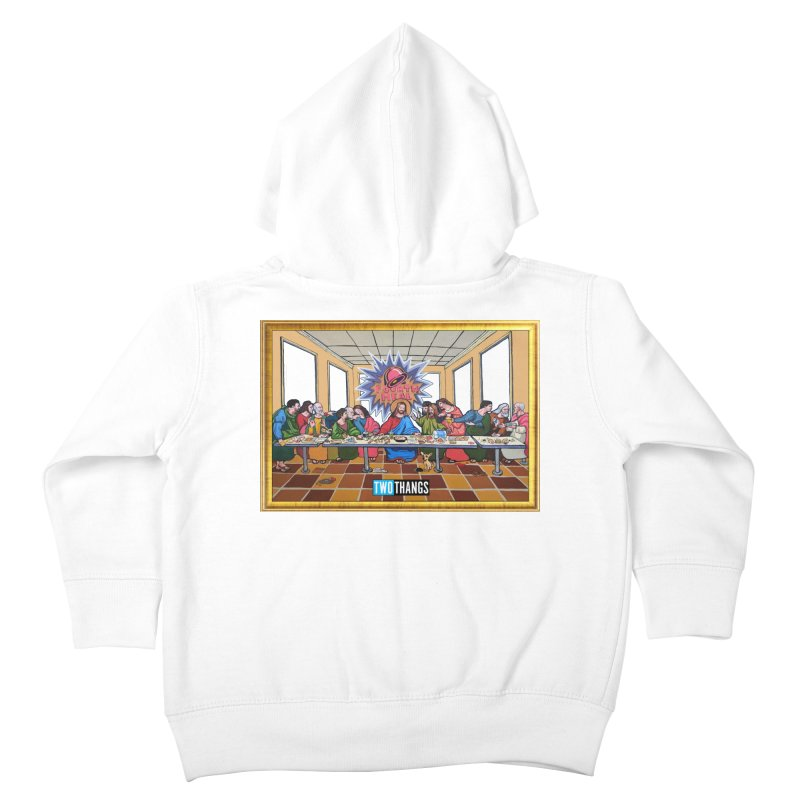 The Last Supper / Taco Bell Kids Toddler Zip-Up Hoody by Two Thangs Artist Shop
