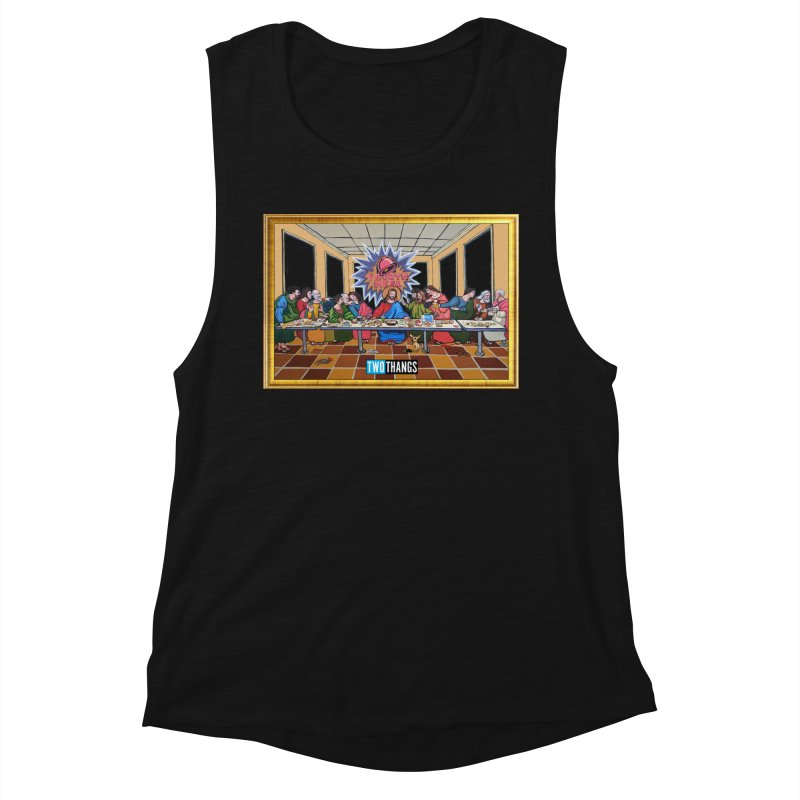 The Last Supper / Taco Bell Women's Tank by Two Thangs Artist Shop