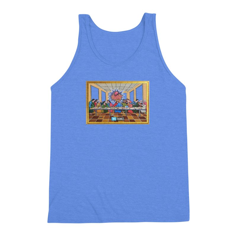 The Last Supper / Taco Bell Men's Triblend Tank by Two Thangs Artist Shop