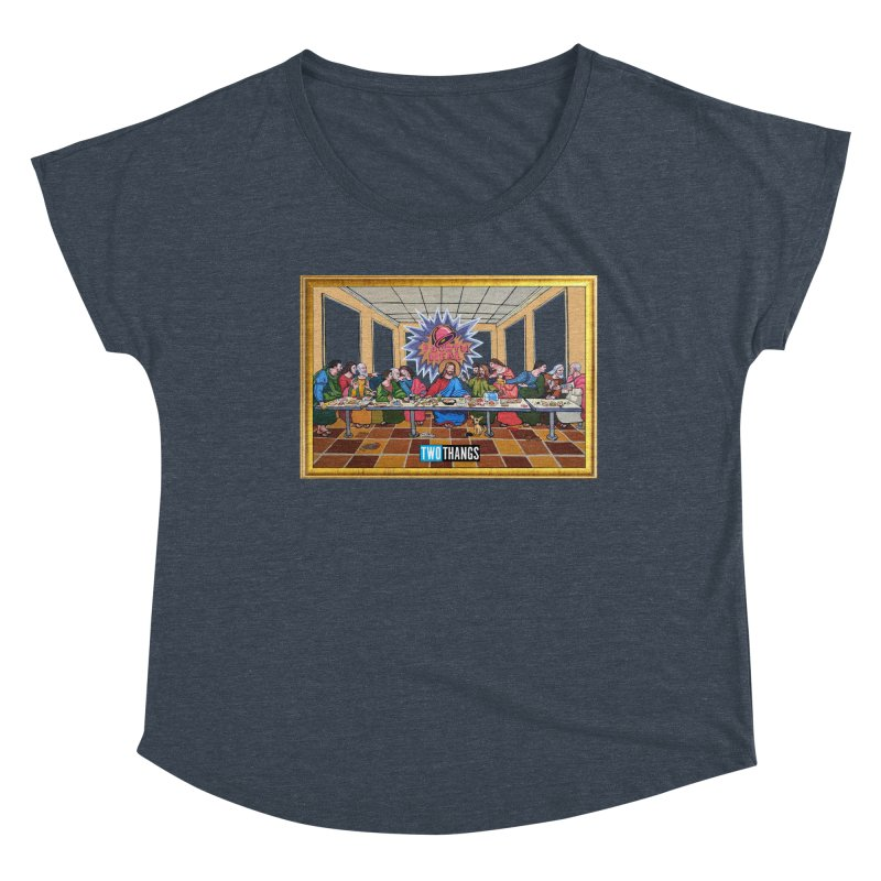 The Last Supper / Taco Bell Women's Scoop Neck by Two Thangs Artist Shop