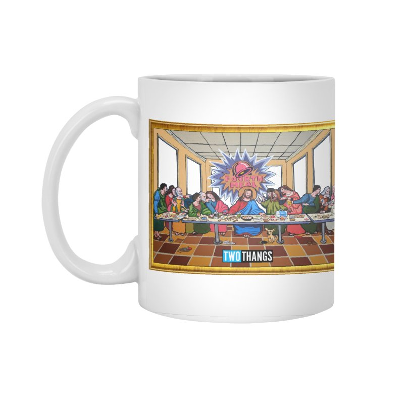 The Last Supper / Taco Bell Accessories Standard Mug by Two Thangs Artist Shop