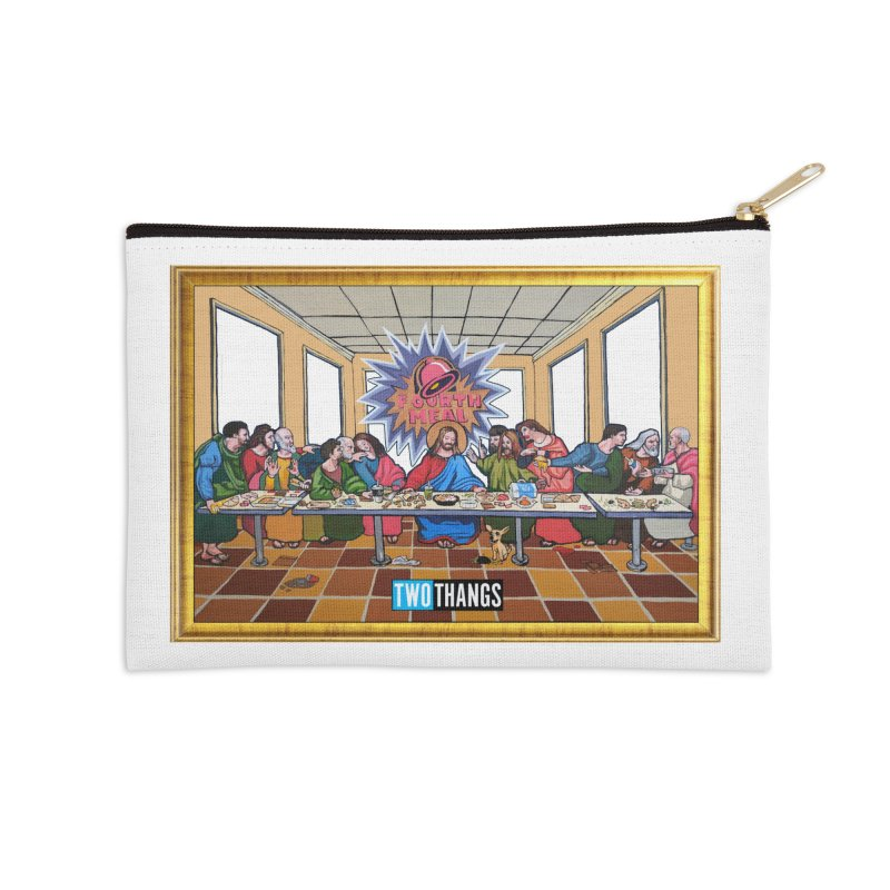 The Last Supper / Taco Bell Accessories Zip Pouch by Two Thangs Artist Shop