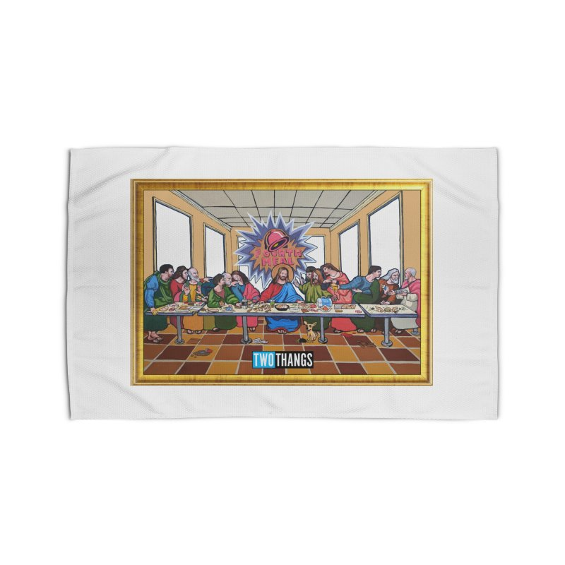 The Last Supper / Taco Bell Home Rug by Two Thangs Artist Shop