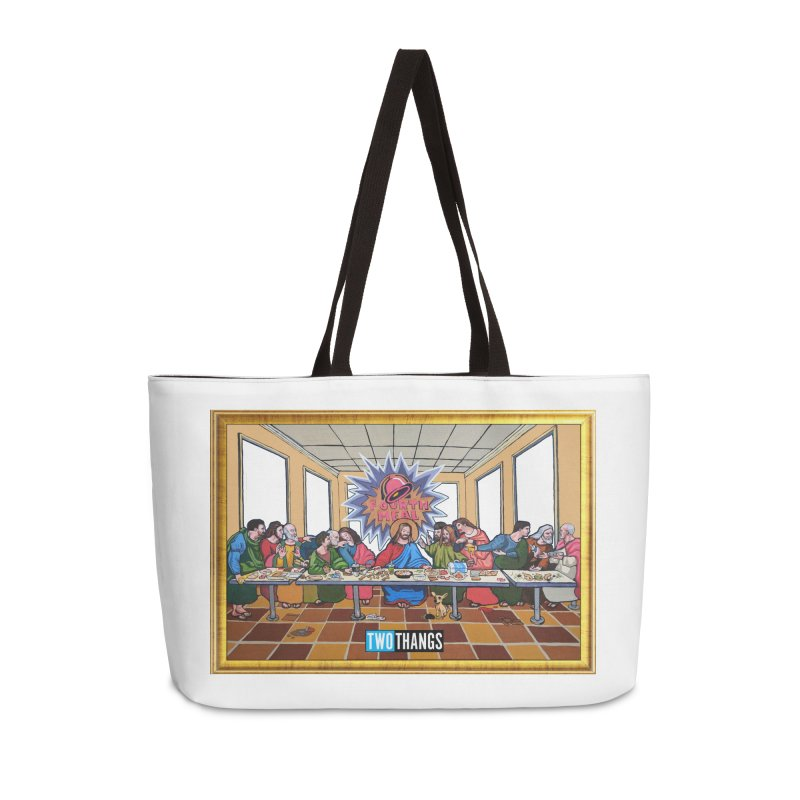 The Last Supper / Taco Bell Accessories Weekender Bag Bag by Two Thangs Artist Shop