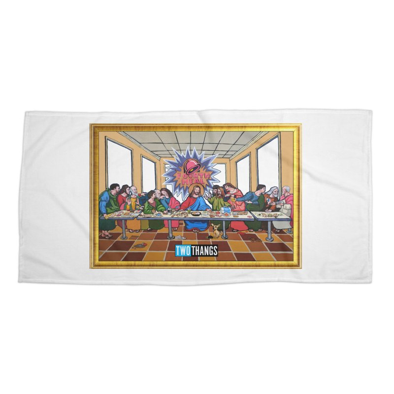 The Last Supper / Taco Bell Accessories Beach Towel by Two Thangs Artist Shop