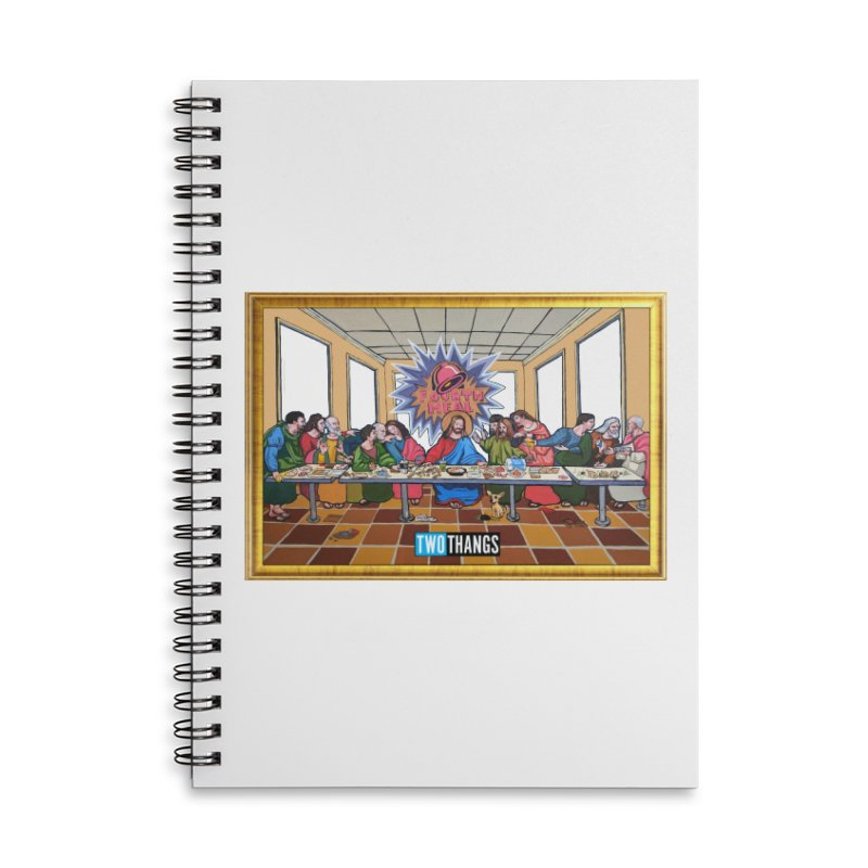 The Last Supper / Taco Bell Accessories Notebook by Two Thangs Artist Shop