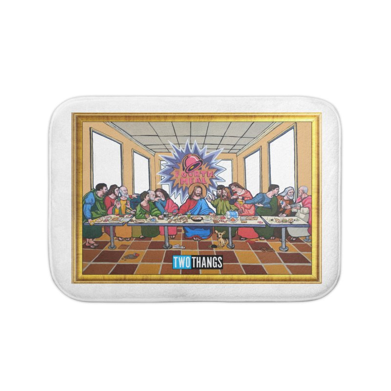 The Last Supper / Taco Bell Home Bath Mat by Two Thangs Artist Shop