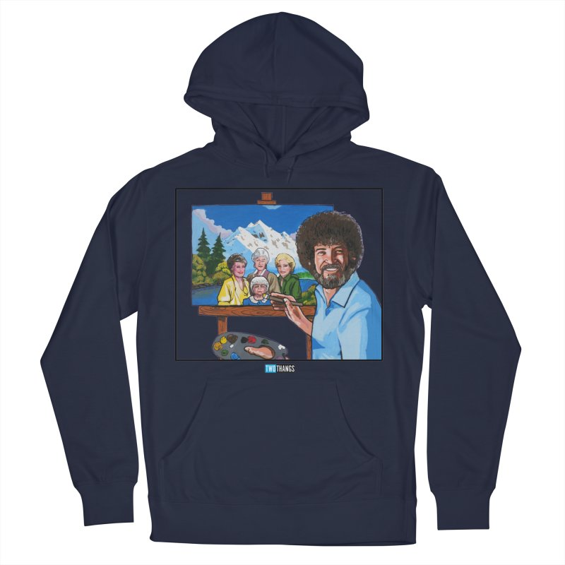 the Golden Girls get their portrait painted Men's Pullover Hoody by Two Thangs Artist Shop