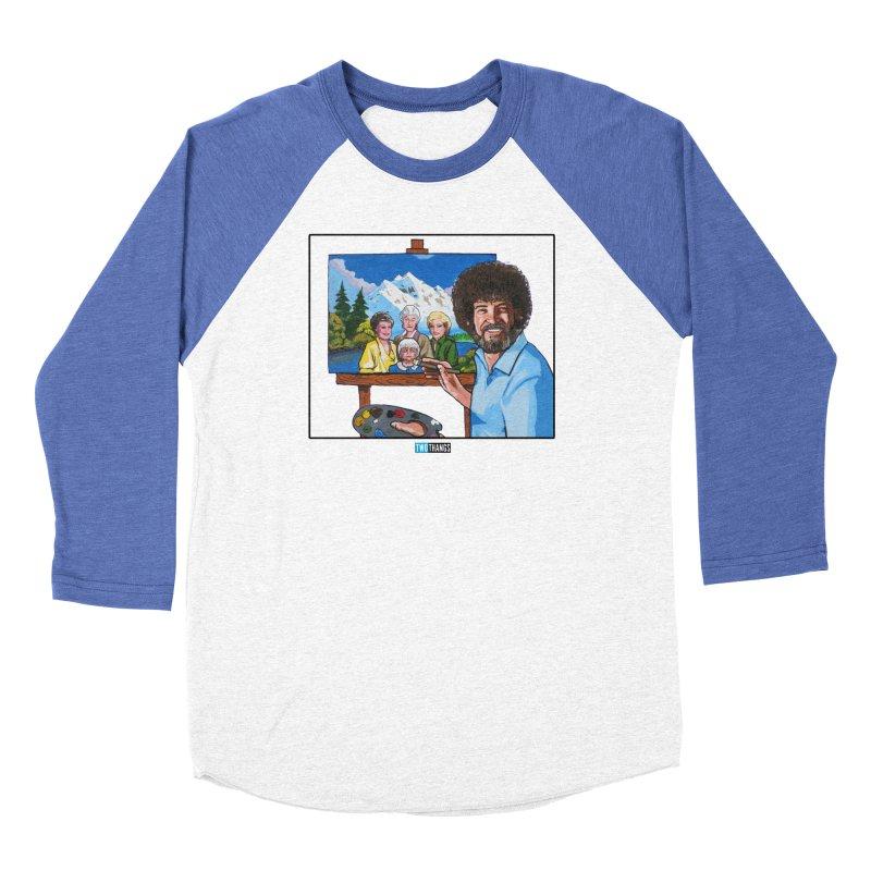 the Golden Girls get their portrait painted Women's Longsleeve T-Shirt by Two Thangs Artist Shop