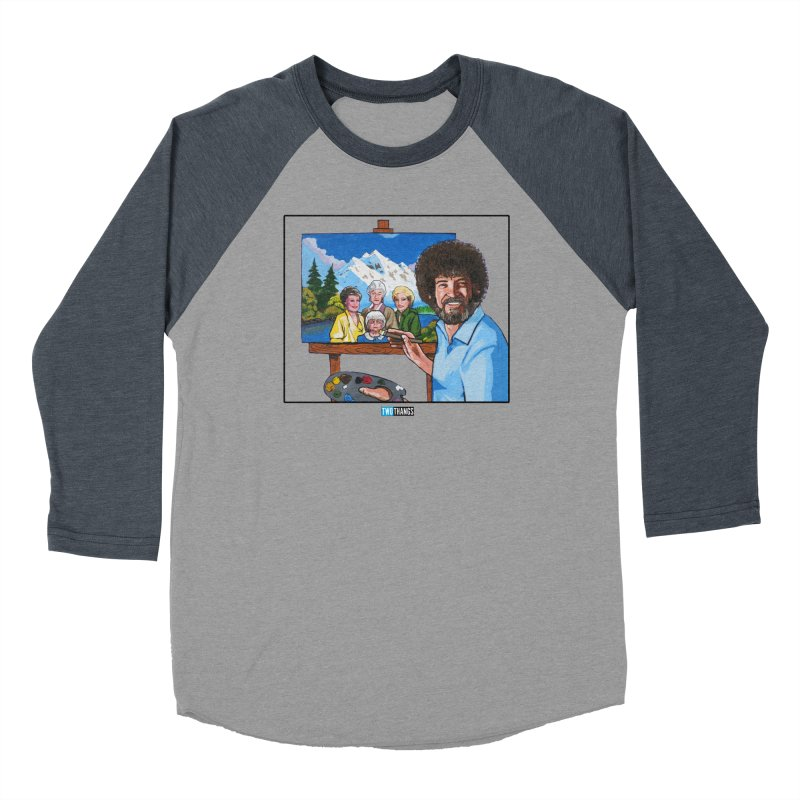 the Golden Girls get their portrait painted Women's Longsleeve T-Shirt by Two Thangs Artist Shop