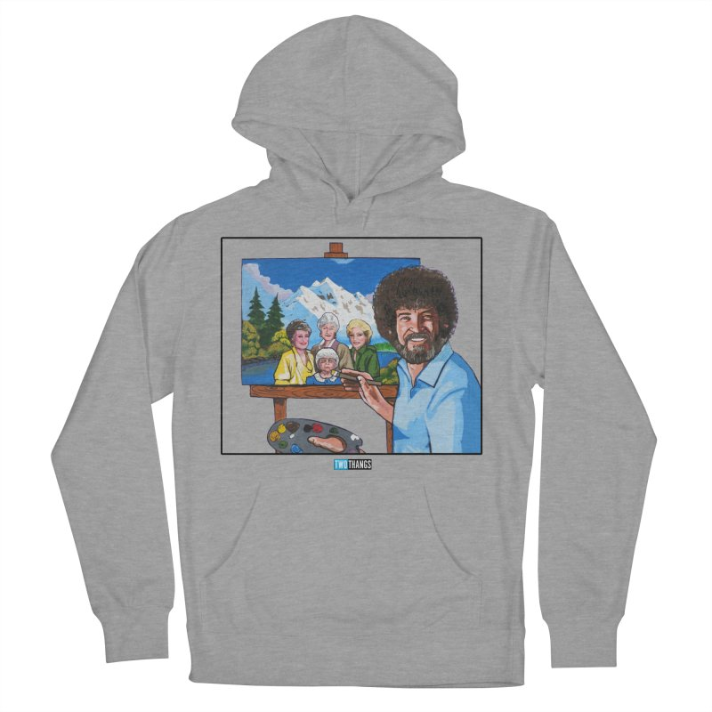 the Golden Girls get their portrait painted Women's French Terry Pullover Hoody by Two Thangs Artist Shop