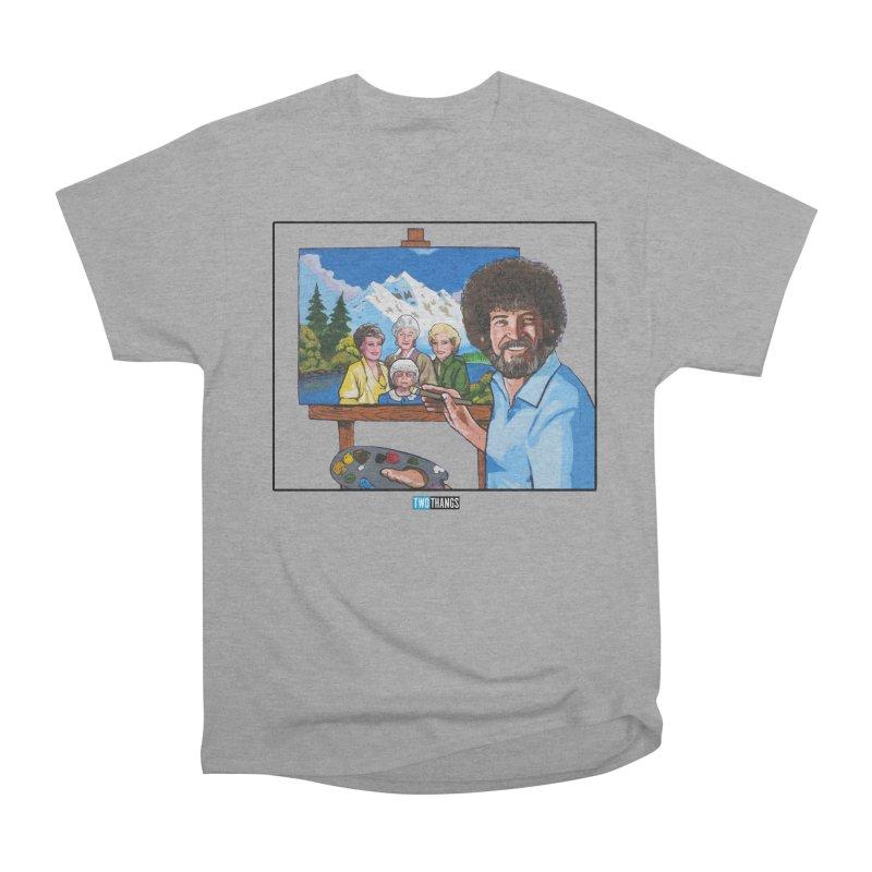 the Golden Girls get their portrait painted Men's Heavyweight T-Shirt by Two Thangs Artist Shop