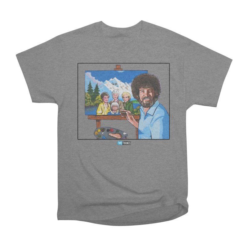 the Golden Girls get their portrait painted Women's T-Shirt by Two Thangs Artist Shop