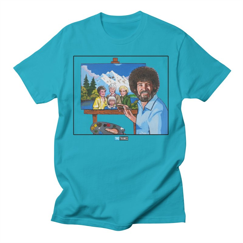 the Golden Girls get their portrait painted Men's T-Shirt by Two Thangs Artist Shop