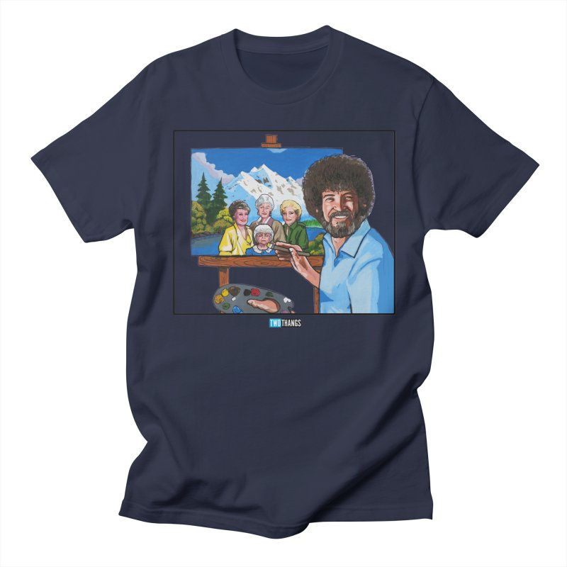 the Golden Girls get their portrait painted Men's Regular T-Shirt by Two Thangs Artist Shop
