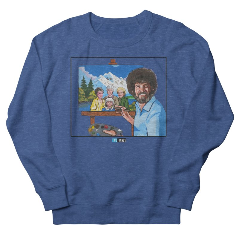 the Golden Girls get their portrait painted Men's Sweatshirt by Two Thangs Artist Shop