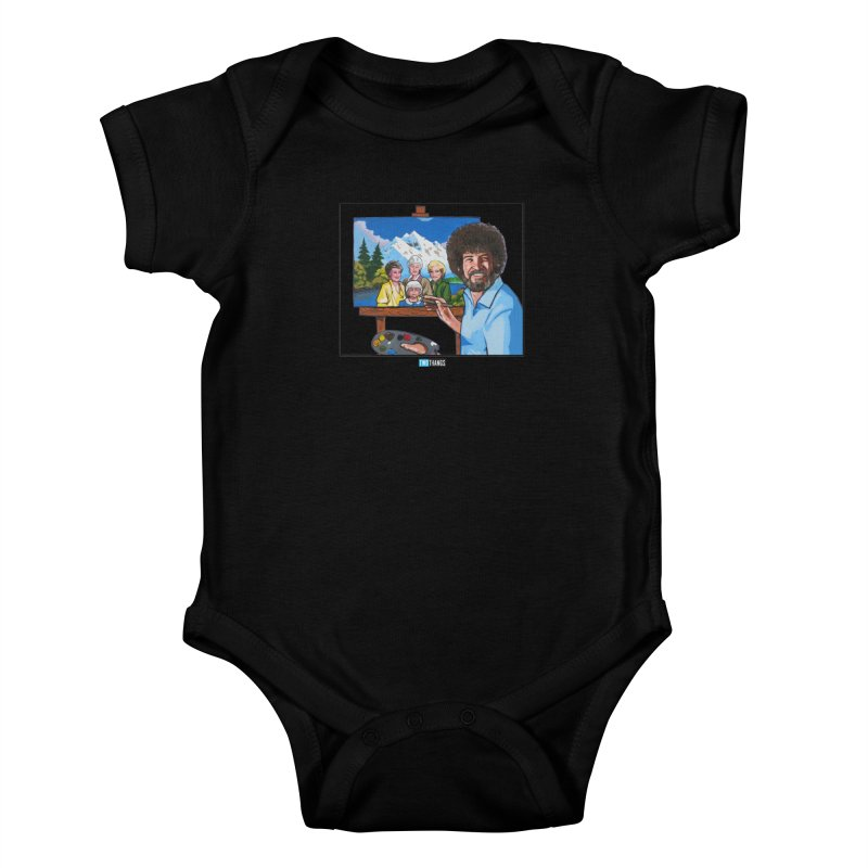 the Golden Girls get their portrait painted Kids Baby Bodysuit by Two Thangs Artist Shop