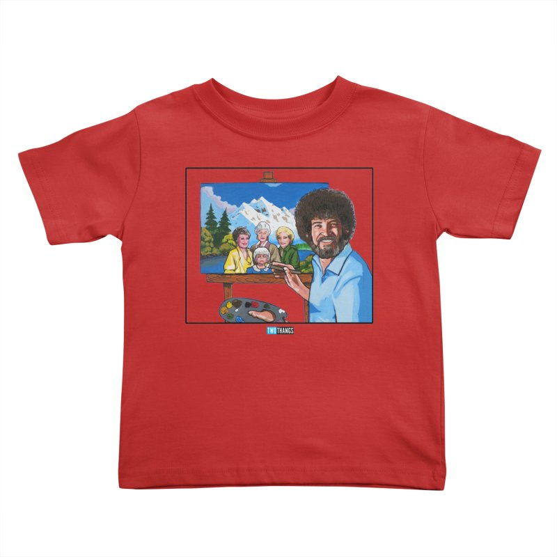 the Golden Girls get their portrait painted Kids Toddler T-Shirt by Two Thangs Artist Shop