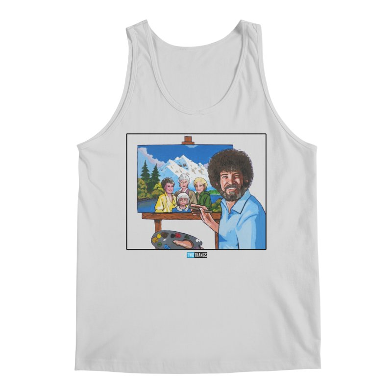 the Golden Girls get their portrait painted Men's Regular Tank by Two Thangs Artist Shop