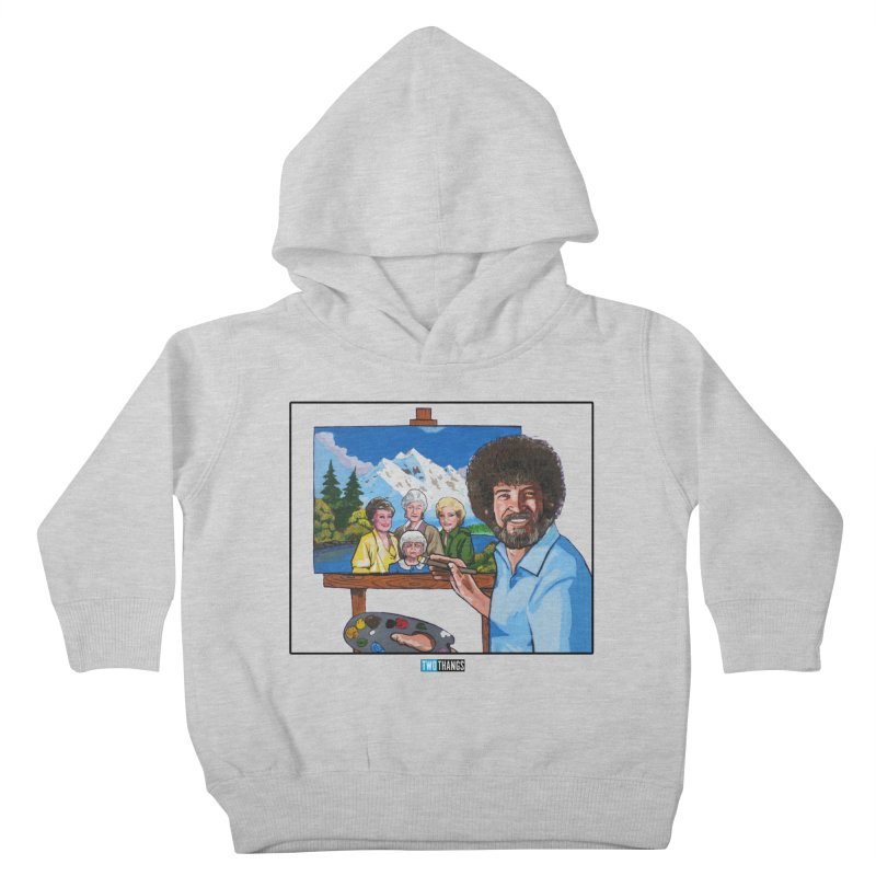 the Golden Girls get their portrait painted Kids Toddler Pullover Hoody by Two Thangs Artist Shop