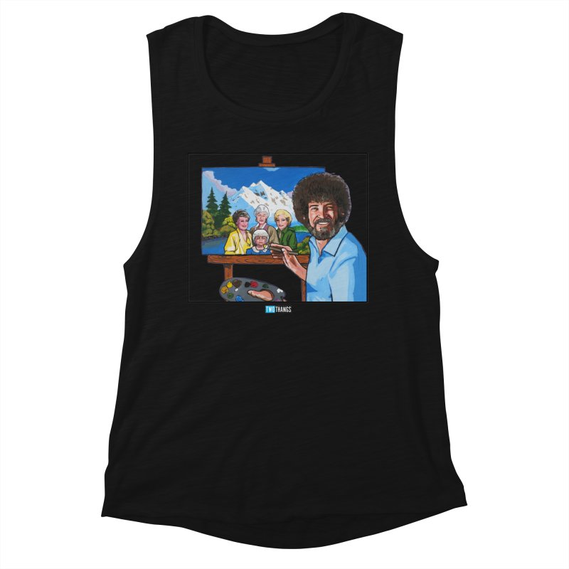 the Golden Girls get their portrait painted Women's Tank by Two Thangs Artist Shop