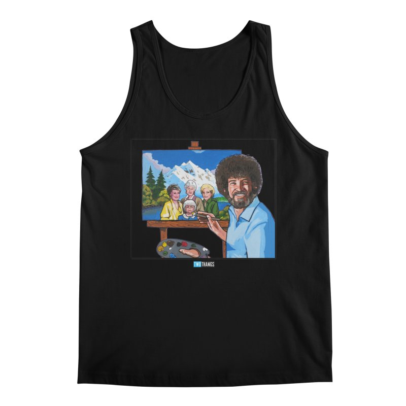 the Golden Girls get their portrait painted Men's Tank by Two Thangs Artist Shop