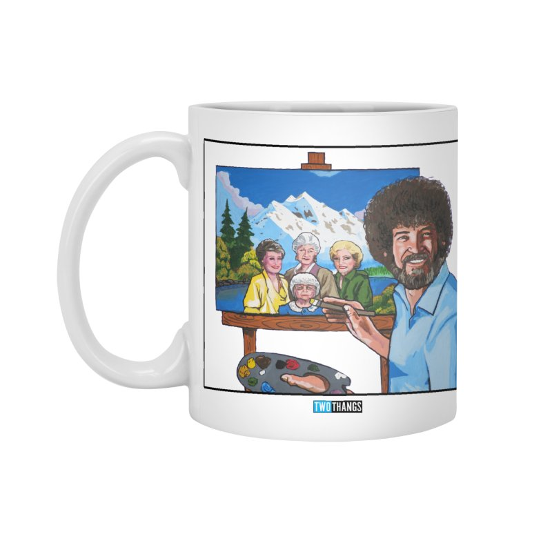 the Golden Girls get their portrait painted Accessories Mug by Two Thangs Artist Shop