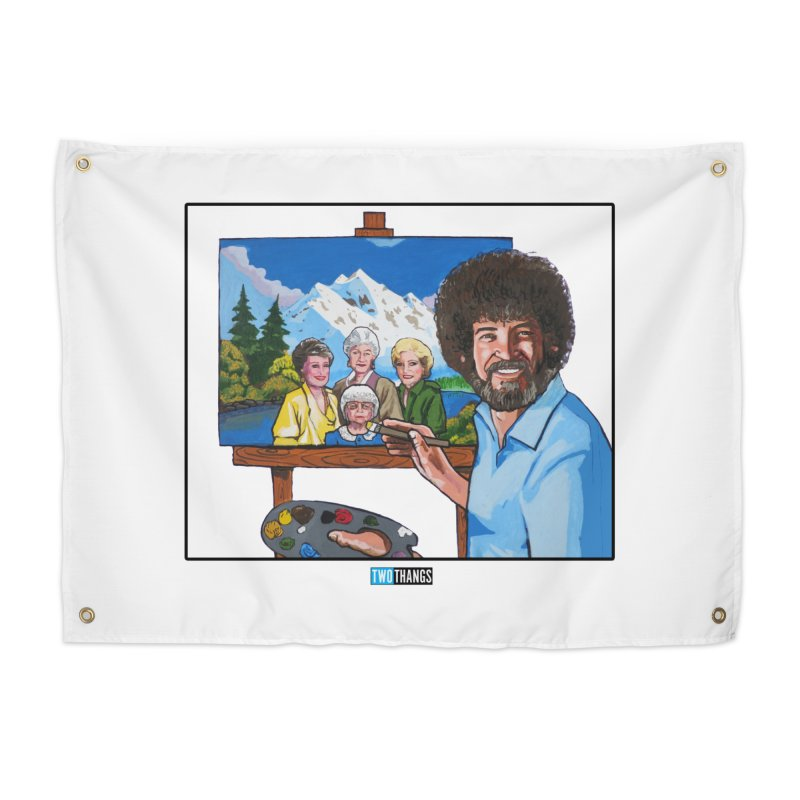 the Golden Girls get their portrait painted Home Tapestry by Two Thangs Artist Shop