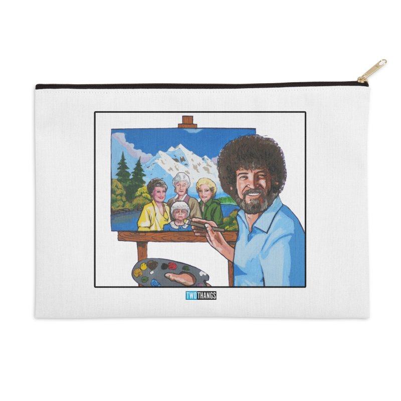 the Golden Girls get their portrait painted Accessories Zip Pouch by Two Thangs Artist Shop