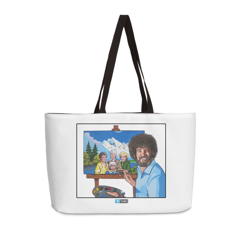the Golden Girls get their portrait painted Accessories Weekender Bag Bag by Two Thangs Artist Shop
